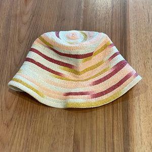 Inverni Bright Wool Colorblock Bucket Hat